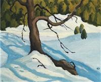 winter by edwin headley holgate
