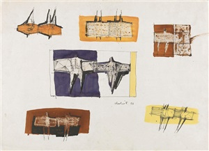 studies for sculpture by lynn chadwick