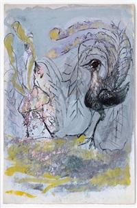 lyrebirds by ceri richards