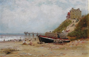view of cromer sands by robert finlay mcintyre
