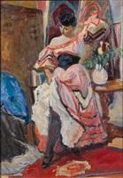 the spanish dancer by louis berthommé-saint-andré
