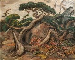 twisted pine by arthur lismer