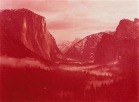 winter sunsrise over yosemite valley, yosemite, california by david benjamin sherry