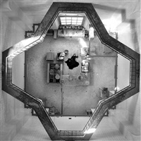 the kitchen ii, from the series the kitchen, homage to saint therese by marina abramović