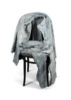 jacket, pants on chair by george segal