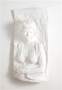 portrait of suzy eban by george segal
