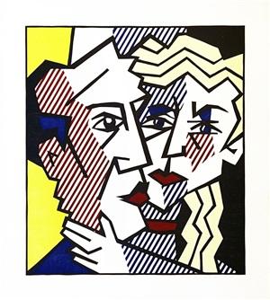 the couple by roy lichtenstein