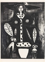 femme au fauteuil (4. zustand) by pablo picasso