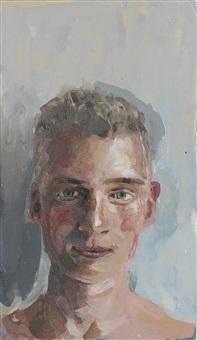 pretty norwegian boy full face by geraldine swayne