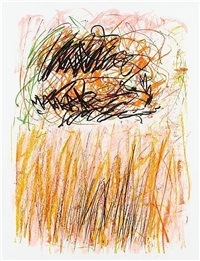 flowers i by joan mitchell