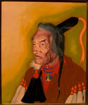 a blackfeet elder by william langdon kihn