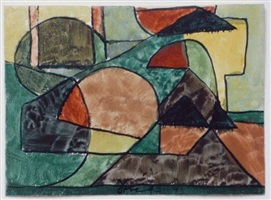 untitled abstraction (4-21-41) by arthur dove