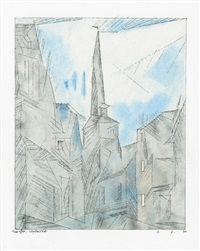 umpferstedt by lyonel feininger