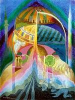 prière dans sainte-sophie by henry valensi