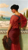 phyleis by john william godward