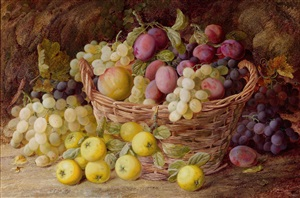 still life with grapes by vincent clare