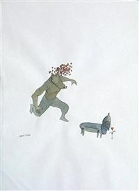 untitled (courtship) by marcel dzama