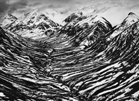 big horn creek in kluane national park and reserve, located in a nearly inaccessible region of canada's yukon territory, near the border with alaska by sebastião salgado