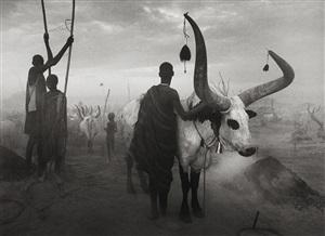 dinka group at pagarau, southern sudan by sebastião salgado