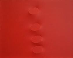 quattro ovali rossi by turi simeti