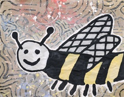bees, please #2 by donald baechler