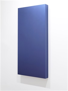 metalloid violet_blue panel by gianni piacentino