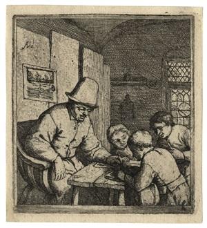 the schoolmaster by adriaen jansz van ostade