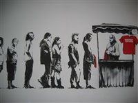 festival/destroy capitalism by banksy