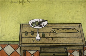 la table de cuisine by bernard buffet