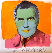 vote mcgovern ii.84 by andy warhol