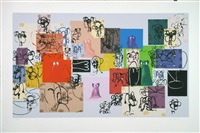 paper faces by george condo