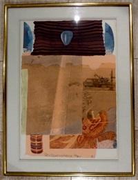 arcanum i by robert rauschenberg