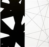 4 strip -teasing weft lines by françois morellet
