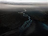 dyralaekir river on myrdalssandur by edward burtynsky