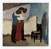 l'étreinte (the embrace) by pablo picasso