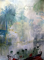 fisherman boys by peter doig