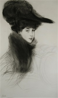 the duchess of marlborough by paul césar helleu