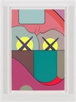 ups and downs #1 by kaws