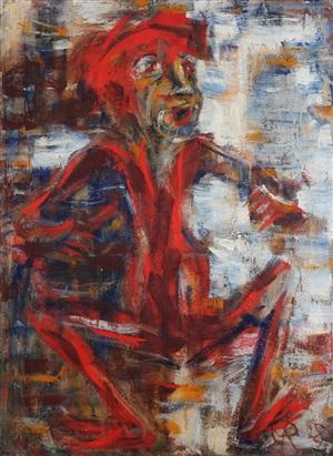 das rote männchen by christian rohlfs