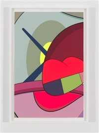 ups and downs #6 by kaws