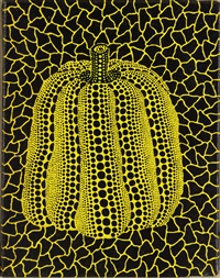 pumpkin by yayoi kusama