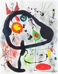 les voyants (the seers) by joan miró
