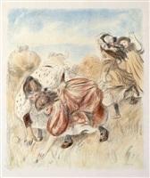 enfants jouant à la balle (children playing ball) by pierre-auguste renoir