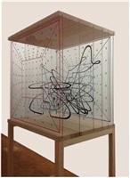 soundcube/ notationsskulptur / soundcube / notationsculpture by bernhard leitner