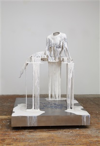 not yet titled outdoor lady by diana al hadid