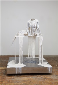 (not yet titled) outdoor lady by diana al-hadid
