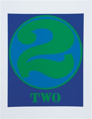 two by robert indiana