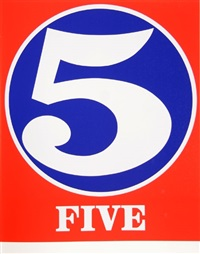 five by robert indiana