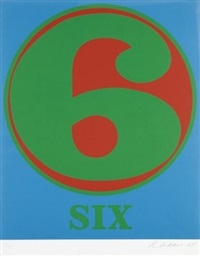six by robert indiana