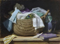 basket and linens by grace mehan devito